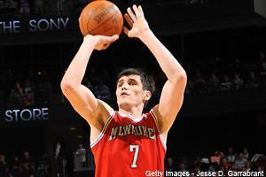 Ersan Ilyasova put on a show Thursday and should have been in all lineups. We break down the lone NBA game and hit News & Notes in Friday's Dose