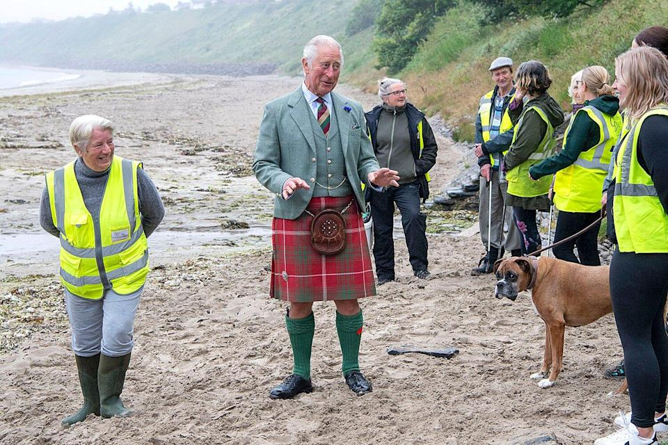 Prince Charles visit to Caithness