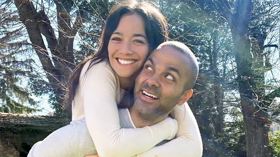 Former NBA star Tony Parker has struck up a romance with former tennis player Alize Lim just months after his marriage to Axelle Francine ended. Picture: Instagram