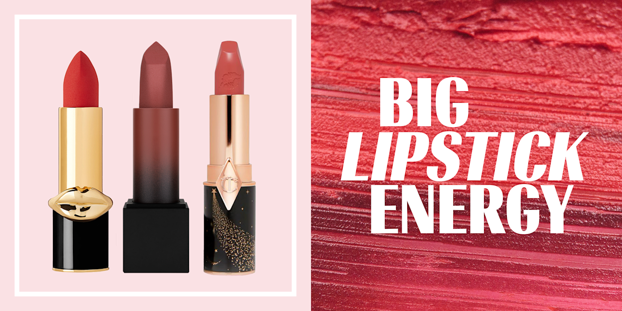 <p><em>I'm a serial lipstick dater. So many lip products slide onto my desk. Some I double-tap and have all the heart eyes for. Others I ghost and leave on seen. <em>This is #BigLipstickEnergy, an honest breakdown of how I feel about the latest lip launches. </em><em>Read on for the three lipstick flings I'm keeping in rotation for now. </em><em>Next week, I'll have a new roster.</em></em><br></p>