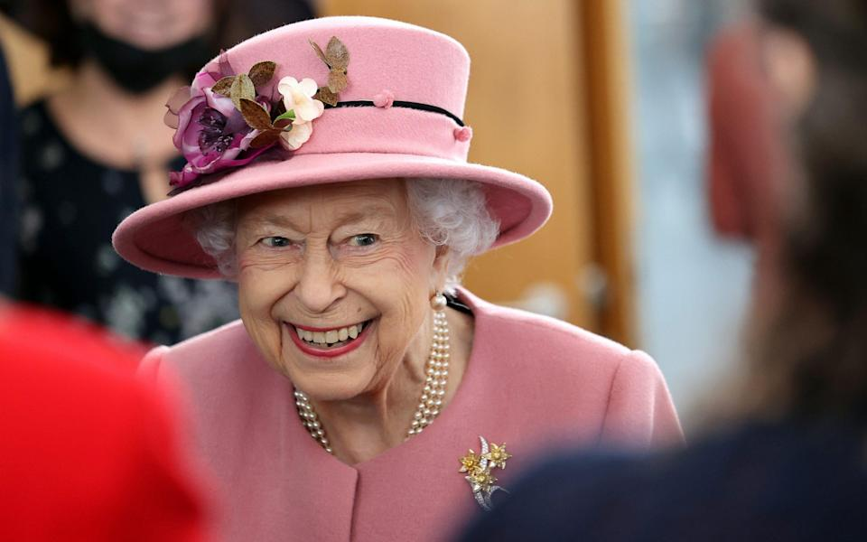 The Queen attends the opening of the Senedd in Cardiff - Chris Jackson/Getty
