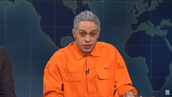 Pete Davidson added Ariana 'SNL' mention after hearing 'Thank U, Next'