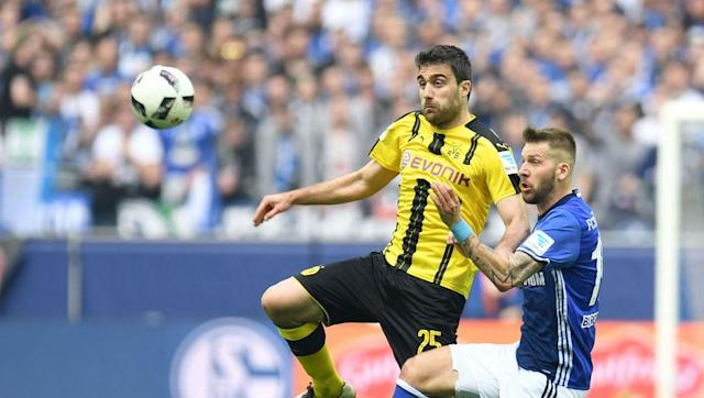 <p>The man with the worst name in all of football - when it comes to the commentator calling his name - has been comfortably the best name in the BVB back line this season. Seriously, the only person with a harder name to spell is his wife, who's called Xanthippi Stamoulaki. </p> <br><p>Imagine being their friend and having to write Christmas and birthday cards for them. There's no copy and paste in the cold, cruel world of ink. </p> <br><p>Plugging the Mats Hummels-shaped hole the was vacated last summer, the Greek international has brought pace, power, and a surprising amount of defensive intelligence, whilst partnering the more technical Marc Bartra, who arrived from Barcelona in the summer window. </p>