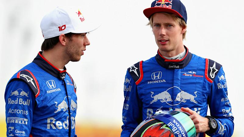 Miscommunication to blame for Toro Rosso collision