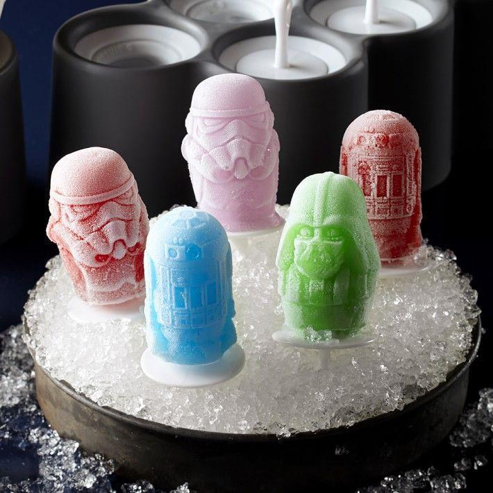 """<p>williams-sonoma.com</p><p><strong>$24.95</strong></p><p><a href=""""https://go.redirectingat.com?id=74968X1596630&url=https%3A%2F%2Fwww.williams-sonoma.com%2Fproducts%2Fstar-wars-pop-mold&sref=https%3A%2F%2Fwww.countryliving.com%2Flife%2Fg32368852%2Fgifts-dad-wants-nothing%2F"""" rel=""""nofollow noopener"""" target=""""_blank"""" data-ylk=""""slk:Shop Now"""" class=""""link rapid-noclick-resp"""">Shop Now</a></p><p>May the frozen treats be with you all summer long thanks to this 6-piece set of silicone ice molds featuring two each of Darth Vader, Stormtrooper, and R2-D2. (Adorable <a href=""""https://www.williams-sonoma.com/products/star-wars-darth-vader-bundle/?cm_src=rel"""" rel=""""nofollow noopener"""" target=""""_blank"""" data-ylk=""""slk:father-child Star Wars aprons"""" class=""""link rapid-noclick-resp"""">father-child Star Wars aprons </a>are also available.)</p>"""