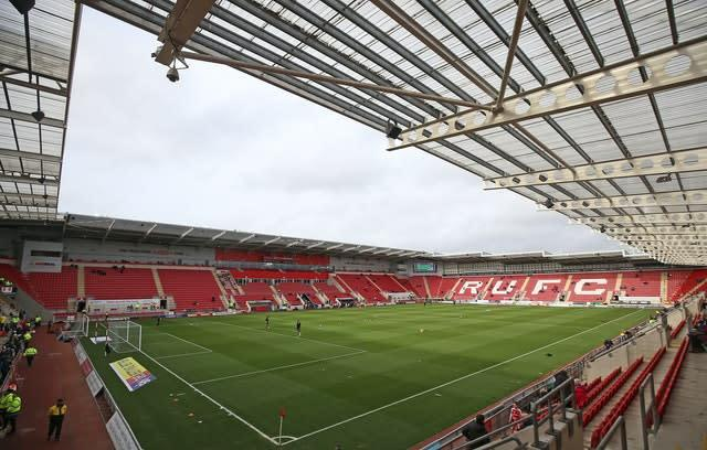 Football League clubs have been told to prepare for the possibility of playing behind closed doors until 2021 (Nigel French/PA)