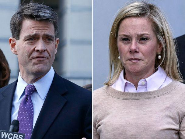 PHOTO: William 'Bill' Baroni, left, and Bridget Anne Kelly reacts after she was found guilty in the Bridgegate trial at the Martin Luther King, Jr. Federal Courthouse, Nov. 4, 2016, in Newark, New Jersey. (Kena Betancur/Getty Images)