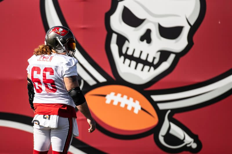 FILE PHOTO: NFL: Super Bowl LV-Tampa Bay Buccaneers Practice