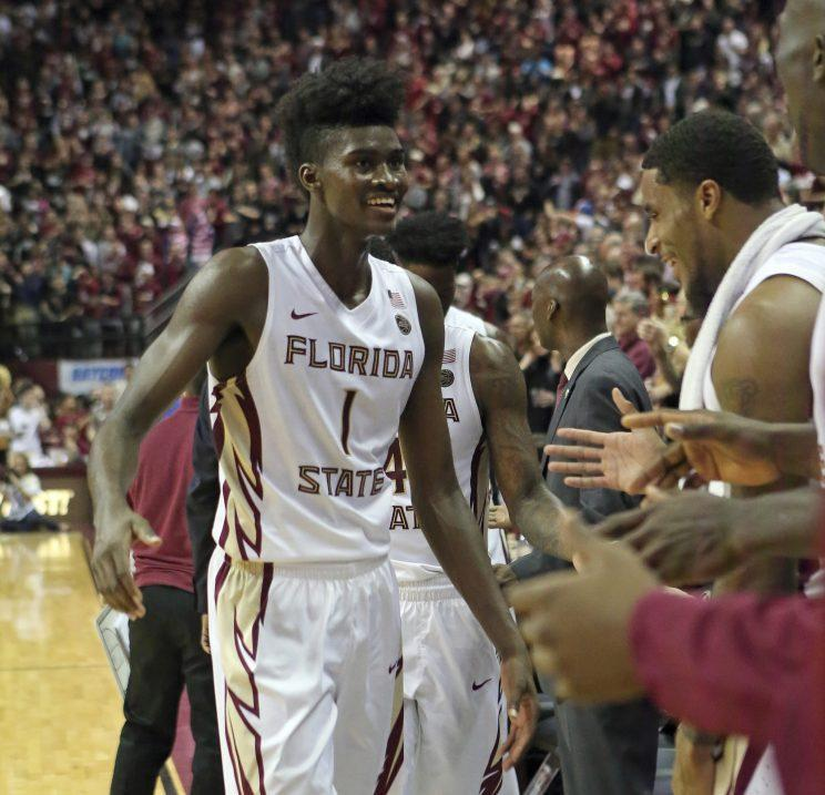 Jonathan Isaac has intriguing potential as a two-way stretch four. (AP)