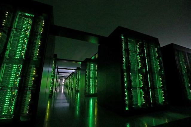 Japan's Fugaku supercomputer at the Riken Center for Computational Science in Kobe, Hyogo prefecture (AFP Photo/STR)