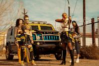 "<p>Teens navigating a postapocalyptic world filled with zombielike creatures and gangs? Sign us up. </p> <p><a href=""https://www.netflix.com/title/80197462"" rel=""nofollow noopener"" target=""_blank"" data-ylk=""slk:Available on Netflix"" class=""link rapid-noclick-resp""><em>Available on Netflix</em></a></p>"