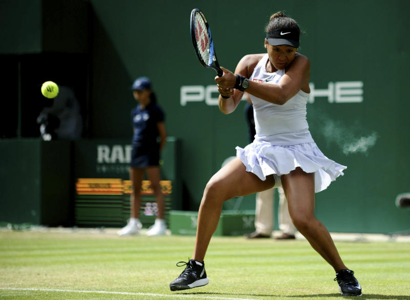 Naomi Osaka suffers Wimbledon preparation blow after landing £4,000 fine at Edgbaston