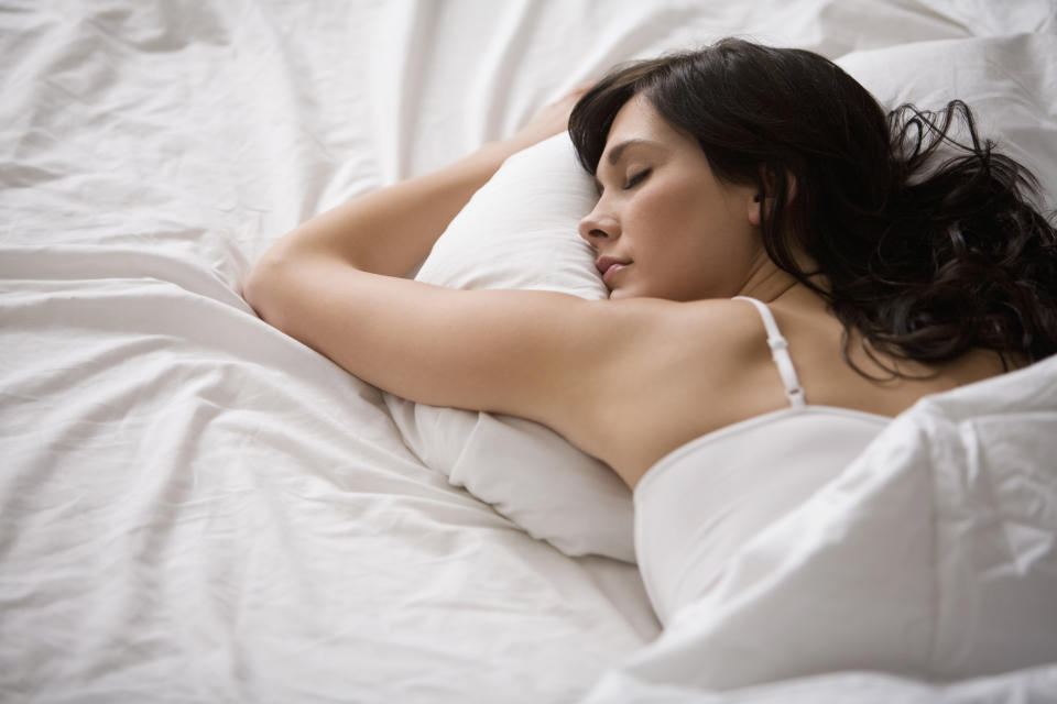 Too much or too little sleep may trigger inflammation that damages the heart. (Posed by a model, Getty Images)