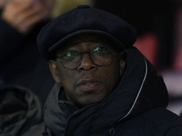 Ian Wright is concerned ahead of Arsenal facing Manchester UnitedGetty