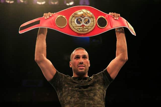 James DeGale is a former two-time world super-middleweight champion (Jonathan Brady/PA)