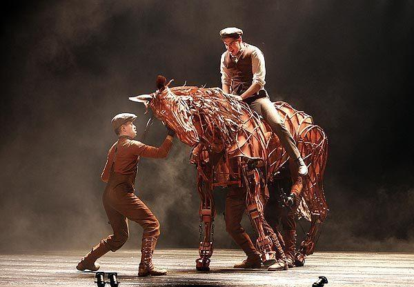 """War Horse"" at the Ahmanson Theatre. Directors Marianne Elliott and Tom Morris took home Tony Awards for the Broadway run."