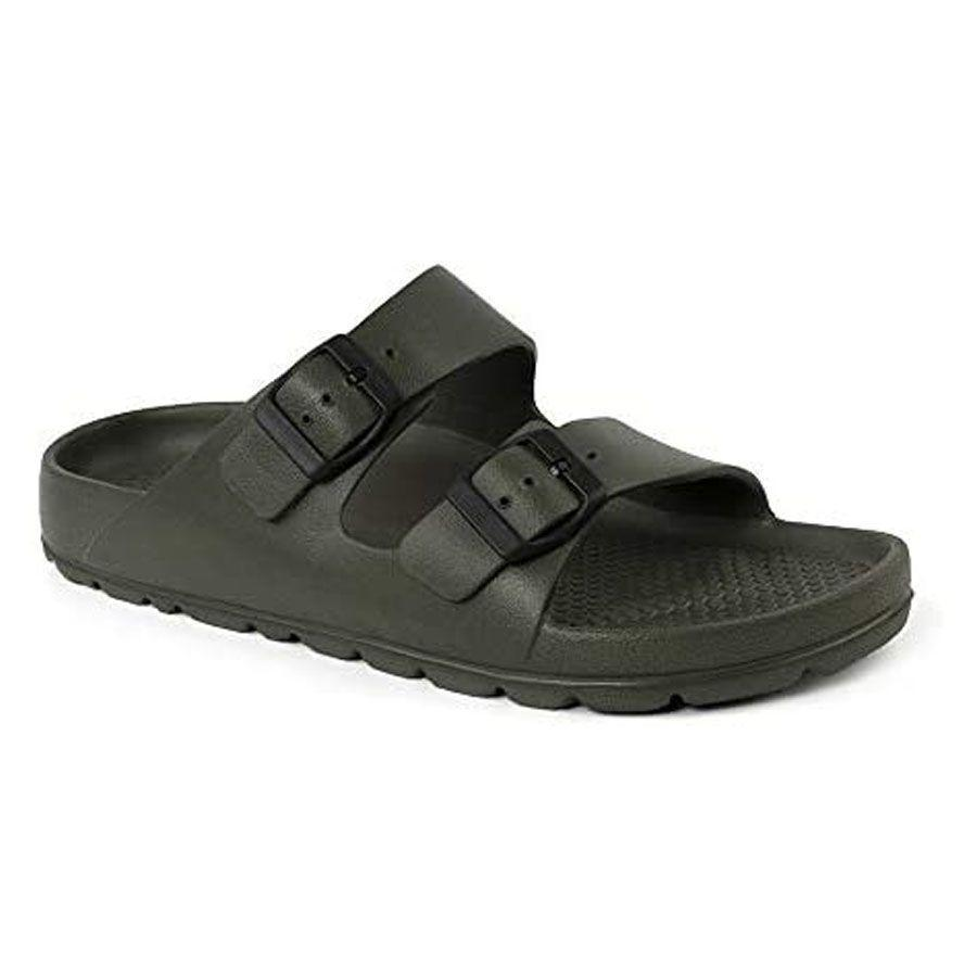 """<p><strong>Birkenstock</strong></p><p>amazon.com</p><p><strong>$39.95</strong></p><p><a href=""""https://www.amazon.com/dp/B00LFCEOF4?tag=syn-yahoo-20&ascsubtag=%5Bartid%7C2139.g.19520579%5Bsrc%7Cyahoo-us"""" rel=""""nofollow noopener"""" target=""""_blank"""" data-ylk=""""slk:BUY IT HERE"""" class=""""link rapid-noclick-resp"""">BUY IT HERE</a></p><p>Redefine whatever the """"<a href=""""https://www.menshealth.com/style/g19521358/best-sandals-for-men/?"""" rel=""""nofollow noopener"""" target=""""_blank"""" data-ylk=""""slk:mandal"""" class=""""link rapid-noclick-resp"""">mandal</a>"""" means to dad, with a cool new pair of Birkenstocks (yes, <a href=""""https://www.menshealth.com/style/a32619231/jason-momoa-mens-birkenstock-sandals-clogs-cool/"""" rel=""""nofollow noopener"""" target=""""_blank"""" data-ylk=""""slk:Birkenstocks are cool"""" class=""""link rapid-noclick-resp"""">Birkenstocks are cool</a> if you didn't get the memo). These ones are lightweight, perfect for any beach, pool, or backyard hang this summer. </p>"""