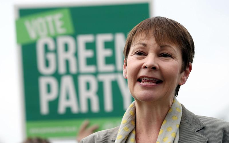 Green party leader Caroline Lucas - Credit: Andrew Matthews/PA