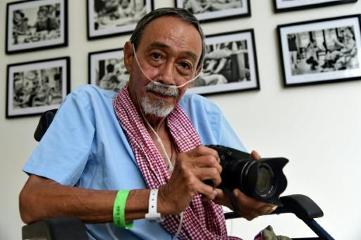 Dying days: ailing photographer documents fellow patients