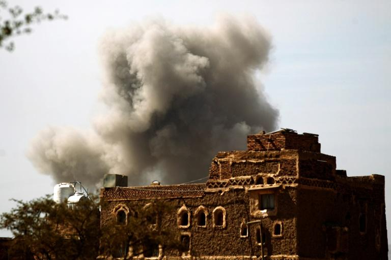 Saudi-led air strikes kill at least 11 civilians in Yemen