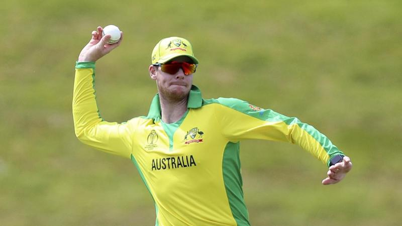 Steve Smith was back in action for Australia in the practice game with West Indies in Southampton