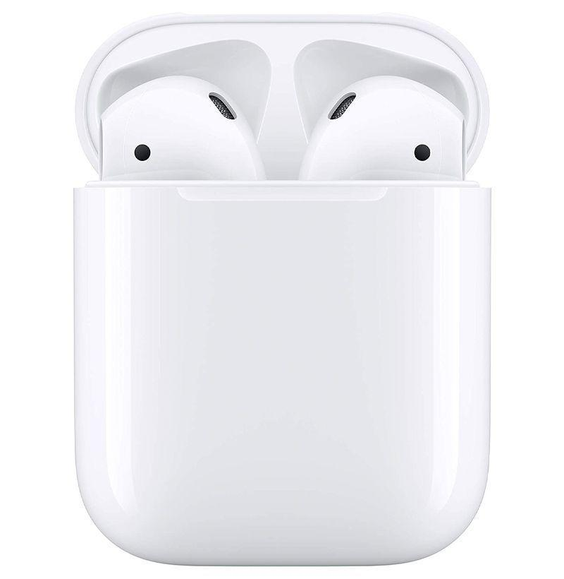 """<p><strong>Apple</strong></p><p>amazon</p><p><strong>$109.00</strong></p><p><a href=""""https://www.amazon.com/dp/B07PXGQC1Q?tag=syn-yahoo-20&ascsubtag=%5Bartid%7C10049.g.37898893%5Bsrc%7Cyahoo-us"""" rel=""""nofollow noopener"""" target=""""_blank"""" data-ylk=""""slk:Shop Now"""" class=""""link rapid-noclick-resp"""">Shop Now</a></p><p><strong><del>$159.00</del> (31% off)</strong></p><p>Nothing really beats the OG. Remember the hype around 1st-gen AirPods when it was first released? Relive it right now at a MUCH cheaper price.</p>"""