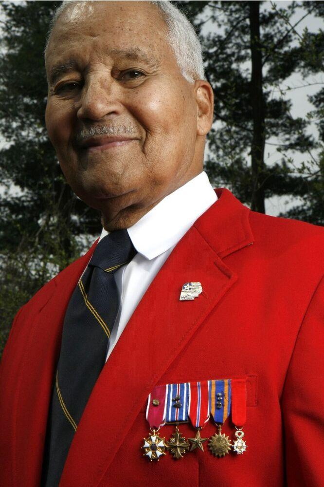 Col. Charles E. McGee | Michel Du Cille/The The Washington Post via Getty Images