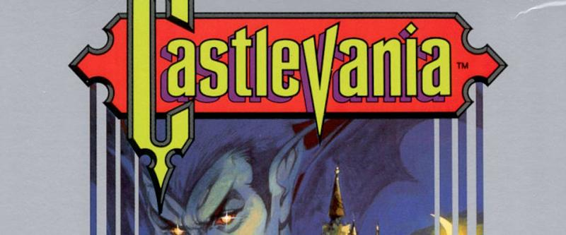 North American box art for Castlevania (Nintendo Entertainment System version