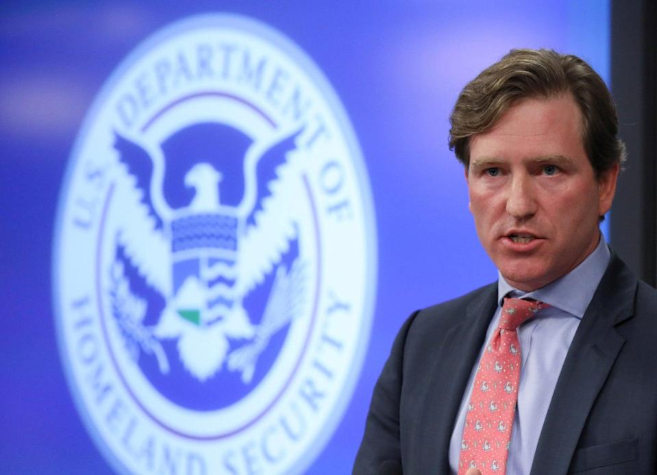 <p>Chris Krebs, who served as the US's top cybersecurity official until last month</p> (REUTERS)
