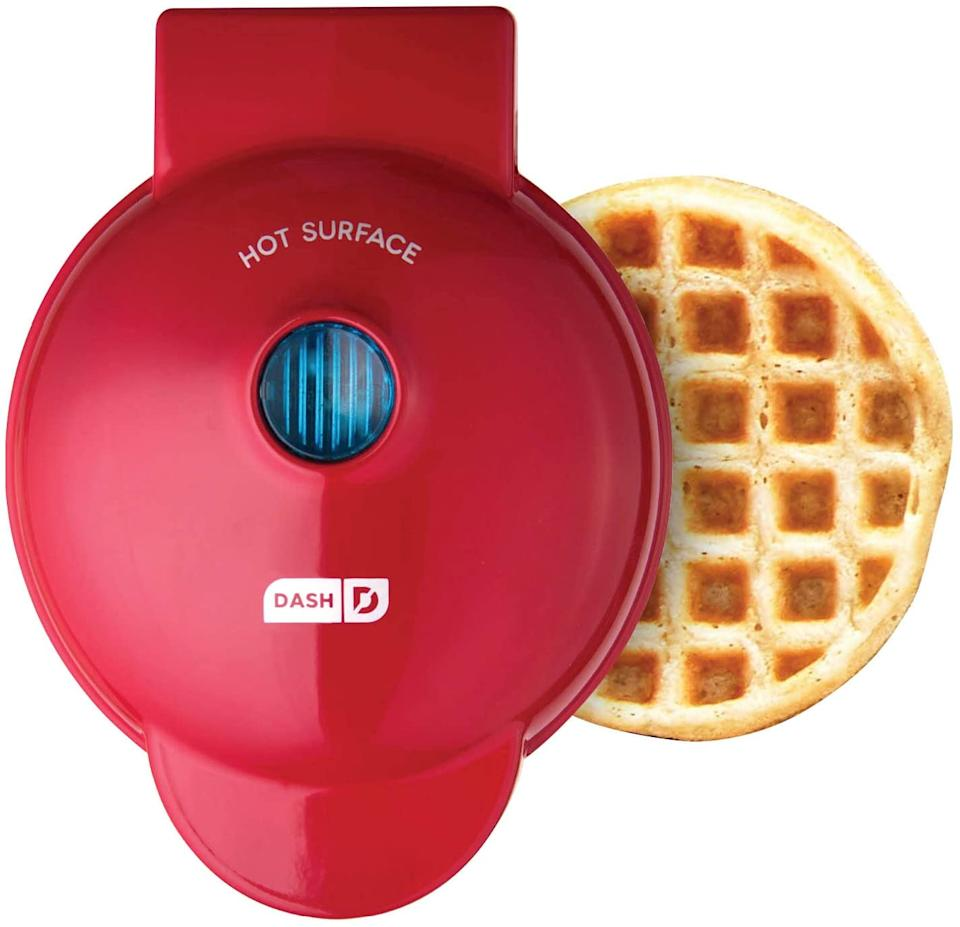 Dash Mini Waffle Maker. Image via Amazon.