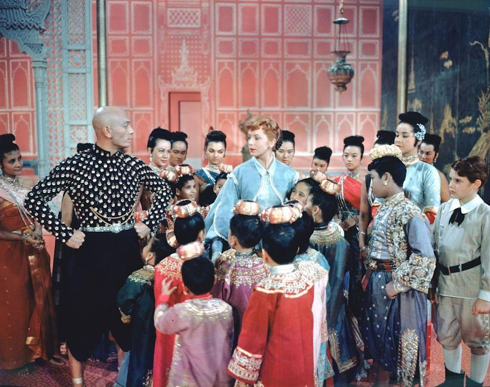 """<p>That novel would serve as the basis for Rodgers and Hammerstein's 1951 musical <em>The King and I</em>, which was the basis for the 1956 film. Deborah Kerr won a Golden Globe for her portrayal of <a href=""""https://theculturetrip.com/asia/thailand/articles/the-real-thai-story-of-the-king-and-i/"""" rel=""""nofollow noopener"""" target=""""_blank"""" data-ylk=""""slk:Leonowens"""" class=""""link rapid-noclick-resp"""">Leonowens</a>.</p>"""