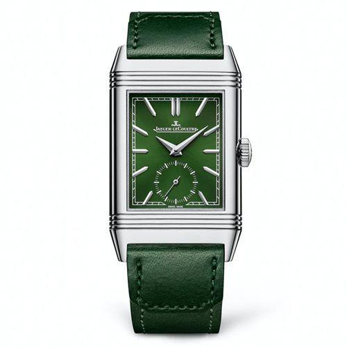 """<p>Reverso Tribute Small Seconds in Green </p><p><a class=""""link rapid-noclick-resp"""" href=""""https://www.jaeger-lecoultre.com/eu/en/watches/reverso/reverso-tribute-monoface/3978430.html"""" rel=""""nofollow noopener"""" target=""""_blank"""" data-ylk=""""slk:SHOP"""">SHOP</a></p><p>A men's watch just released for 2021, the Jaeger-LeCoultre Reverso is now available in deep emerald green. Which, understandably, sounds like a bold choice for one of the most classic marques on the planet (with the most classic-adoring of fanbases). But thanks to a reversible design that's cemented itself at the apex of watchmaking, the latest Reverso is just as timeless – and as investable – as its predecessors.</p><p>£7,200; <a href=""""https://www.jaeger-lecoultre.com/eu/en/watches/reverso/reverso-tribute-monoface/3978430.html"""" rel=""""nofollow noopener"""" target=""""_blank"""" data-ylk=""""slk:jaeger-lecoultre.com"""" class=""""link rapid-noclick-resp"""">jaeger-lecoultre.com</a></p>"""