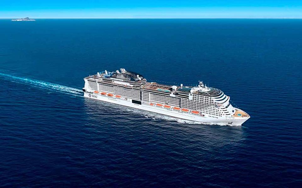 Italy has seen two major operators – Costa Cruises and MSC Cruises (pictured) – return to service