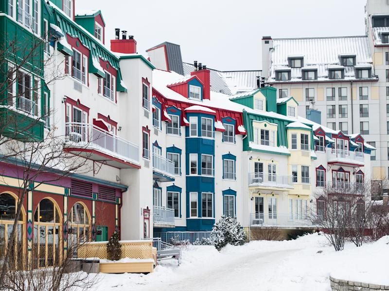 Mont-Tremblant village in winter (Getty)