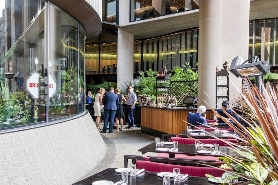 <p>Home to beloved restaurants like Homeslice, Caravan, Vinoteca and Ahi Poke, guests can take their pick and eat in the venue's covered terrace.</p>
