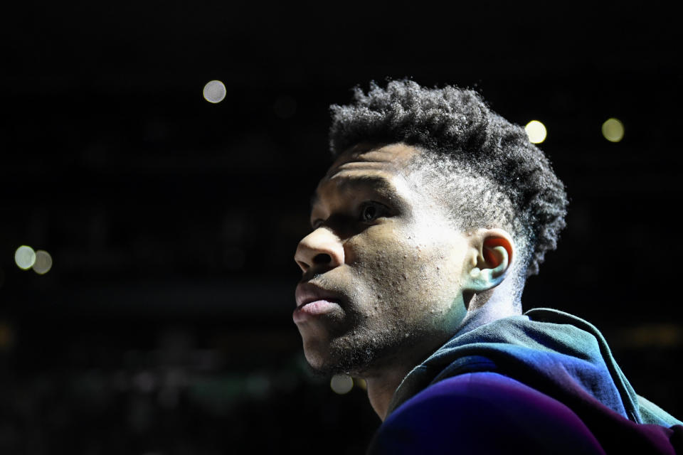 Antetokounmpo signs USA  $228.2 million deal - the richest in National Basketball Association  history
