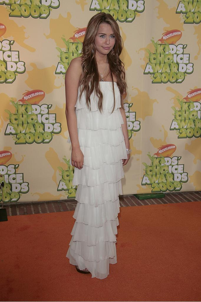 "Miley CyrusNickelodeon's 2009 Kids' Choice Awards at the UCLA Pauley Pavillion, Los Angeles, America - 28 Mar 2009High School Musical 3: Senior Year"" has received top marks at the Kids' Choice Awards. The Disney musical was selected as the favourite movie by audience votes at Nickelodeon's 22nd annual event. ""High School Musical"" star Vanessa Hudgens was also selected as the favourite movie actress. However, it was the slime not the awards that was the most popular part of the evening. The show was kicked off by host Dwayne 'The Rock' Johnson zip-lining into a ""slime temple"" and spraying goo over the audience. Over 90 million viewer votes were cast on Nickelodeon's website for this year's awards."