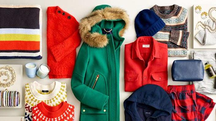 Stock up on sweaters, coats and more goodies during this extended J.Crew sale.