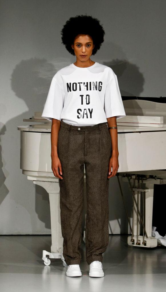 64e6b7a4 This T-Shirt Says a Lot by Saying 'Nothing'