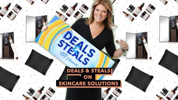PHOTO: Deals and Steals on Skincare Solutions (ABC News Photo Illustration, Perricone MD, NIGHT, Color Wow)
