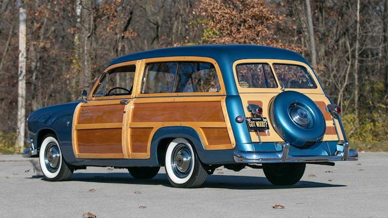 1951 Ford Country Squire Is A Wonderful Woody Wagon
