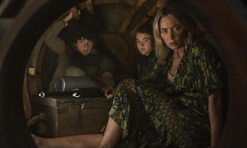 Emily Blunt in A Quiet Place 2.