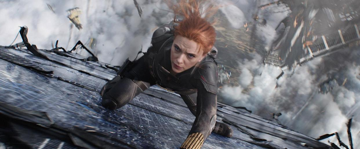 'Black Widow' will be available to all Disney+ subscribers this month. (Disney)