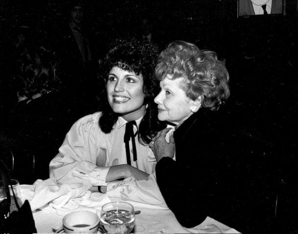 PHOTO: Lucille Ball and Lucie Arnaz circa 1979 in New York. (Robin Platzer/Images Press via Getty Images)