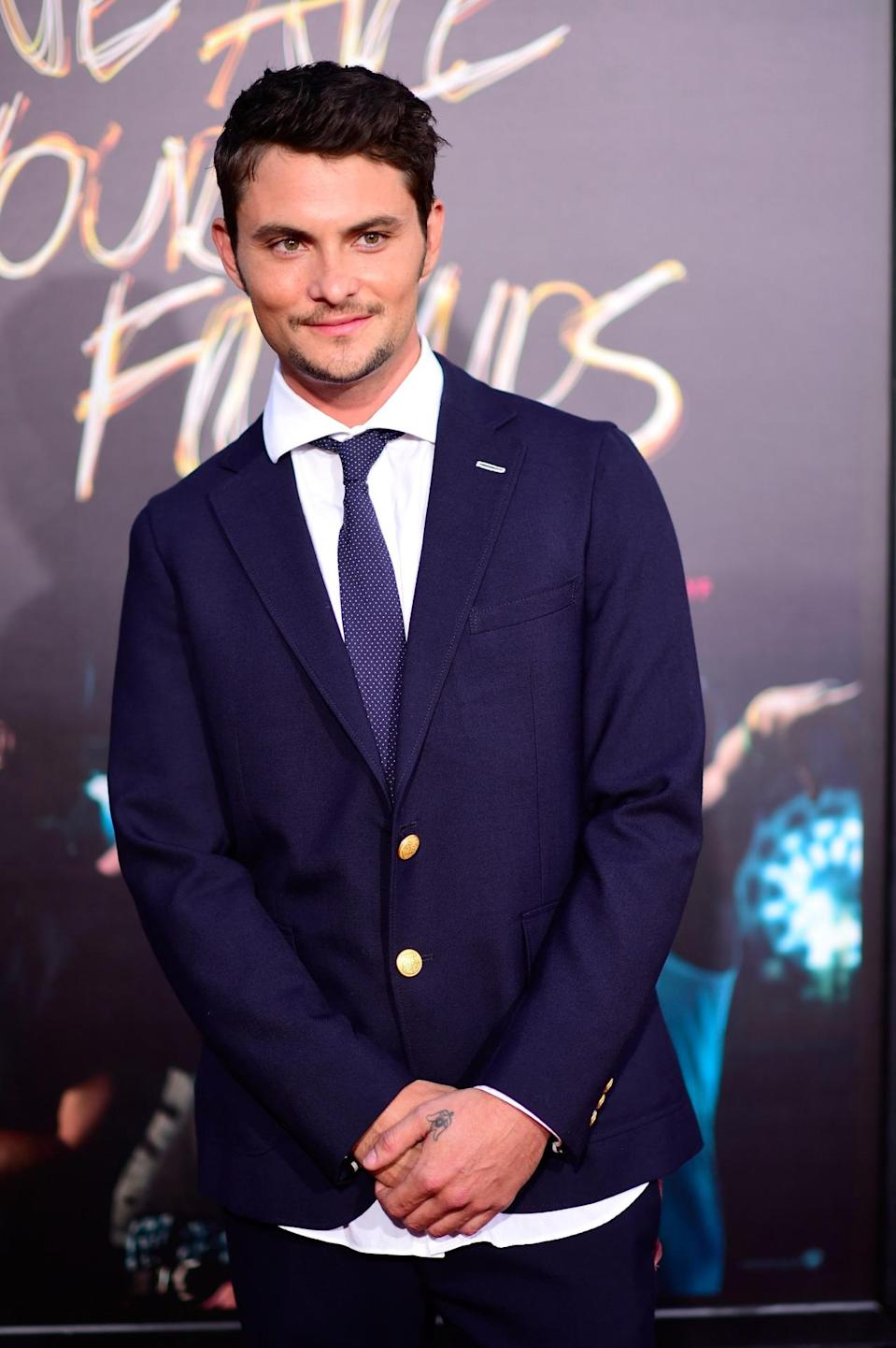 """HOLLYWOOD, CA - AUGUST 20: Actor Shiloh Fernandez arrives at the Premiere Of Warner Bros. Pictures' """"We Are Your Friends"""" at TCL Chinese Theatre on August 20, 2015 in Hollywood, California. (Photo by Frazer Harrison/Getty Images)"""