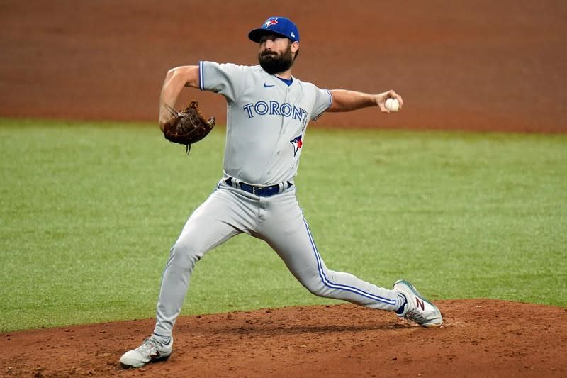 Rays strike first with 3-1 win in opener of wild-card series against Blue Jays