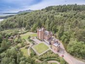 """<p>Dating back to 1902, this magnificently grand castle has 16 bedrooms, stunning original features, walled gardens, staff accommodation, a boathouse and its own jetty. Anyone lucky enough to put down an offer will love the idyllic views and 132 acres of sprawling land. </p><p><a href=""""https://www.rightmove.co.uk/property-for-sale/property-67643138.html"""" rel=""""nofollow noopener"""" target=""""_blank"""" data-ylk=""""slk:This property is for sale for £3,750,000 via Bell Ingram at Rightmove"""" class=""""link rapid-noclick-resp"""">This property is for sale for £3,750,000 via Bell Ingram at Rightmove</a>. </p>"""
