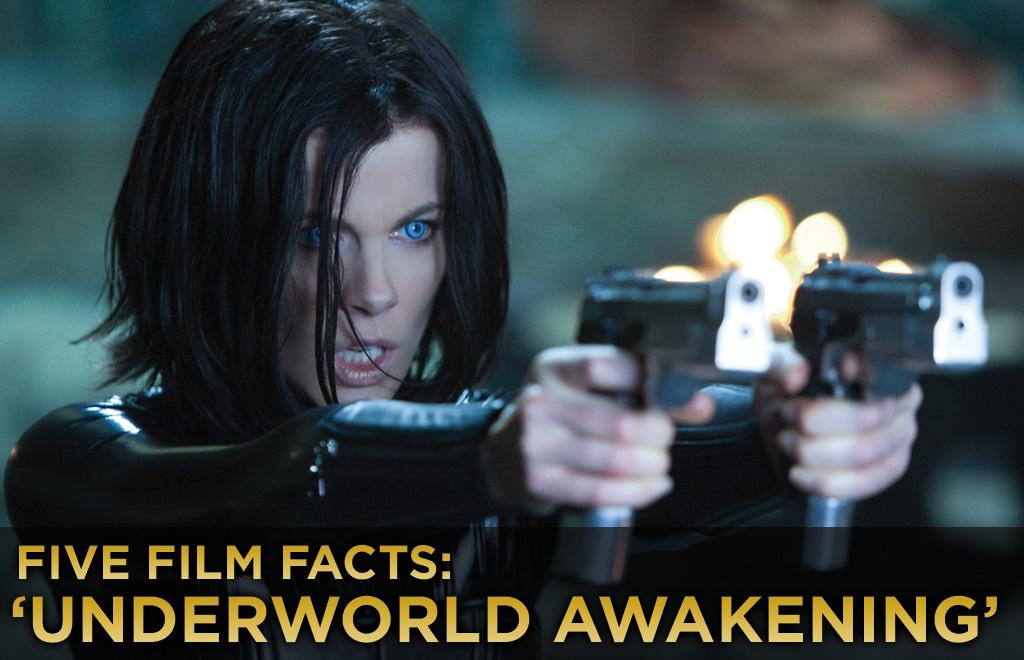 """<a href=""http://movies.yahoo.com/movie/underworld-awakening/"">Underworld Awakening</a>,""  the fourth film of the celebrated franchise, opens this weekend in  spectacular 3D, with hopes of taking the No. 1 spot at the box office.  We know we just threw a lot of numbers at you, but here are five fun  facts about the film that you should definitely know.<br><br><a href=""http://movies.yahoo.com/showtimes/"">Get showtimes and tickets >></a>"