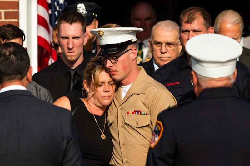 A firefighter who died on 9/11 was finally laid to rest. 1,109 victims remain unidentified