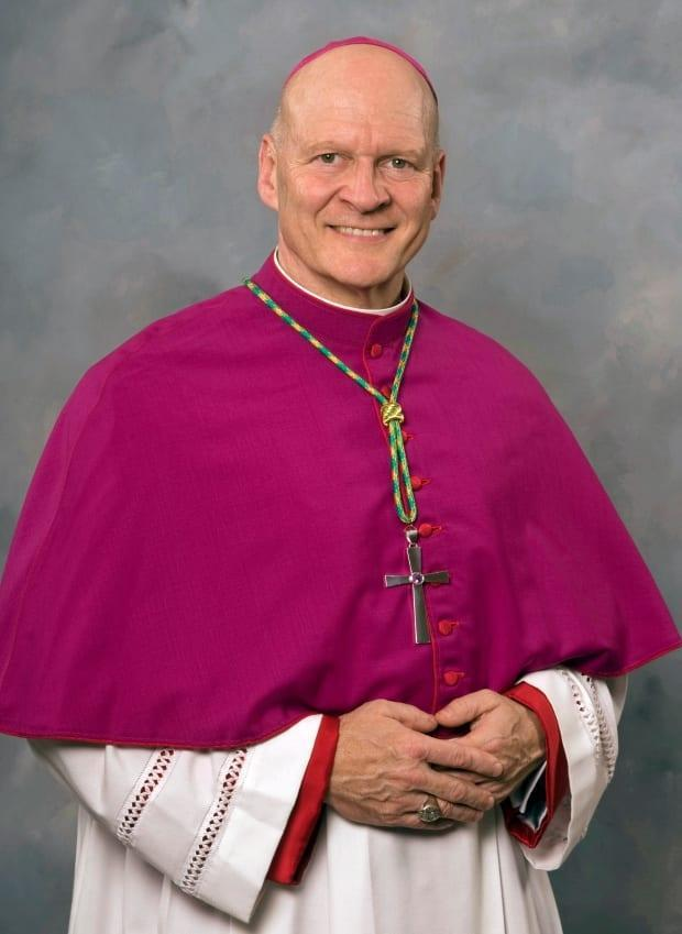 Diocese of Saskatoon Bishop Mark Hagemoen and his four fellow Saskatchewan bishops are moving ahead with plans for a fall fundraising campaign for residential school survivors. None of thier colleagues across Canada appear to be joining them. (Supplied photo - image credit)